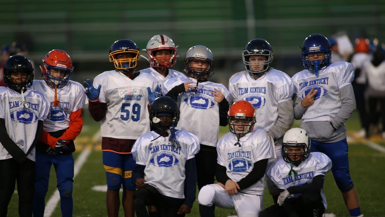 7th Grade Team KY Football Players